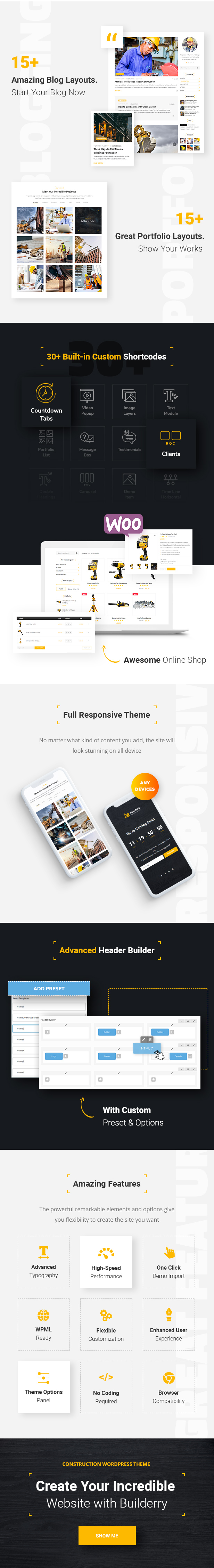 Builderry - Construction and Building WordPress Theme - 3